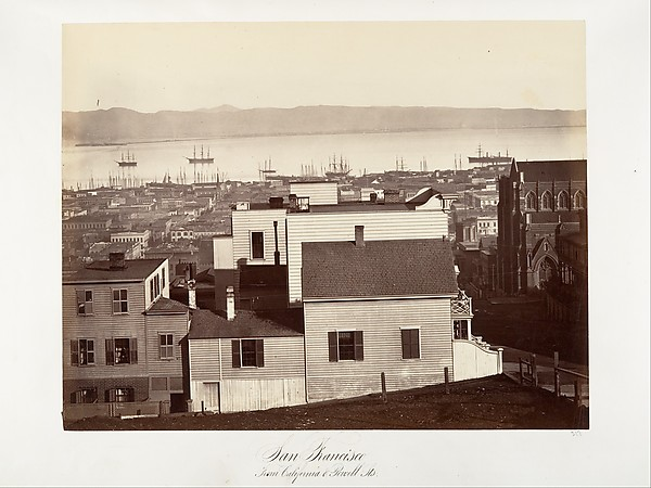 San Francisco, from California and Powell Streets