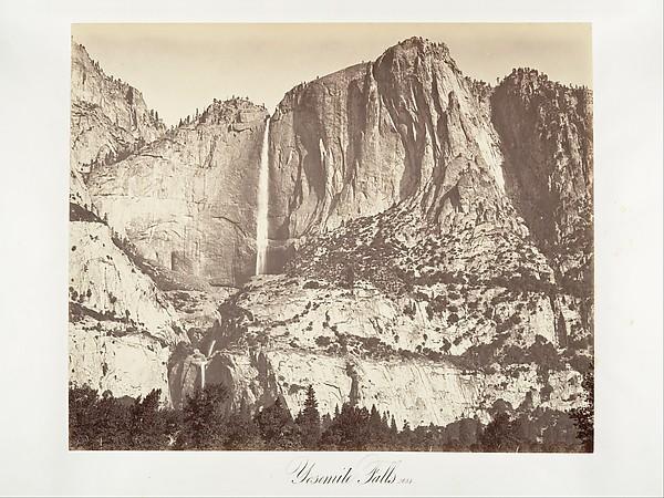 Yosemite Falls, 2,634 feet