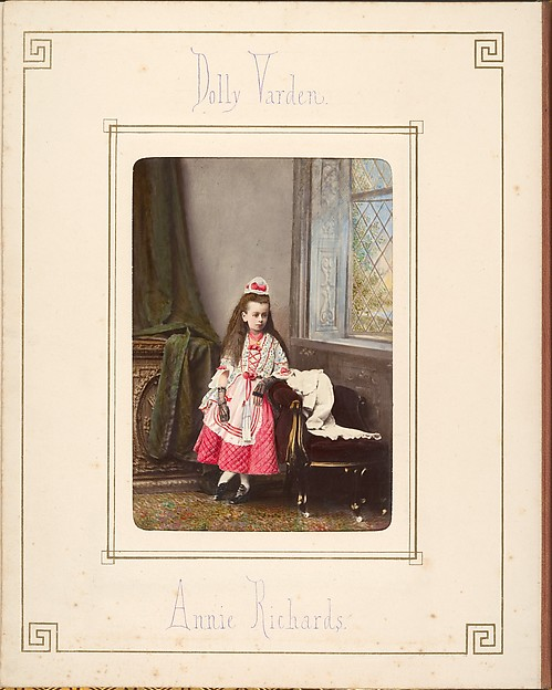 [Follett Family Album of Children Costumed for a Fancy Dress Ball]