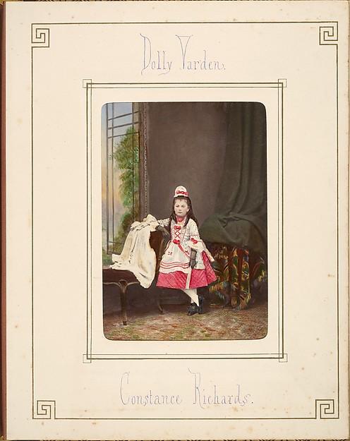 [Follett Family Album of Children Costumed for a Fancy Dress Ball]