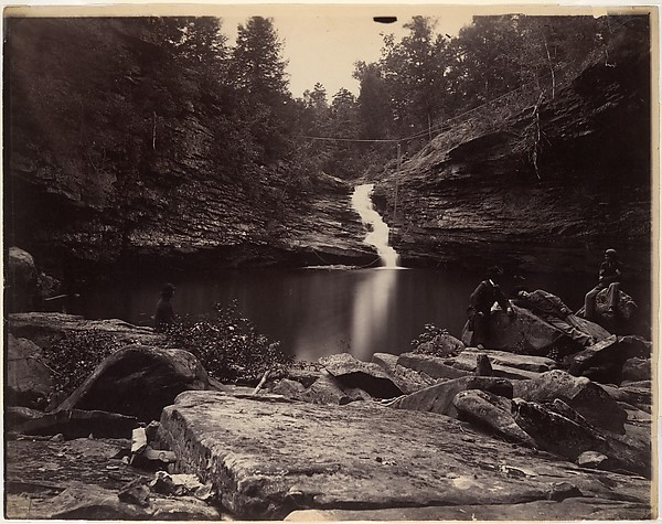 [Lula Lake and Upper Falls on Rock Creek, near Lookout Mountain, Georgia]
