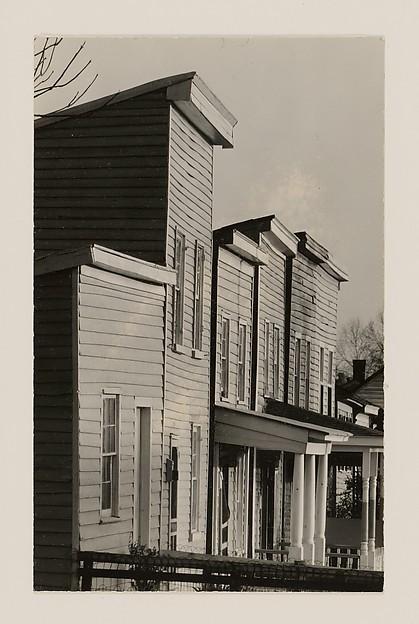 "Detail of ""Frame Houses in Virginia"""