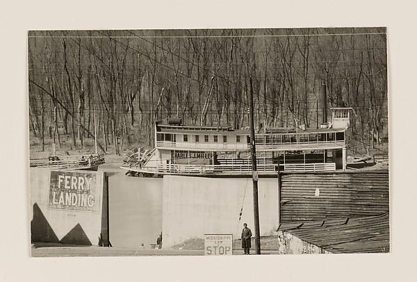 A Ferry Landing, Vicksburg, Mississippi