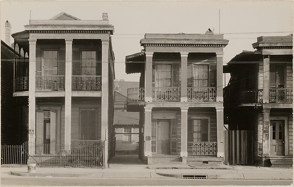 "[Detail of ""New Orleans Houses""]"