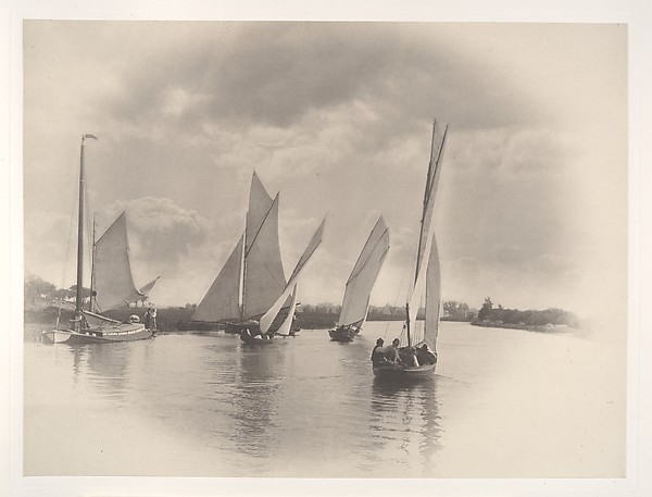 A Sailing Match at Horning, 1885