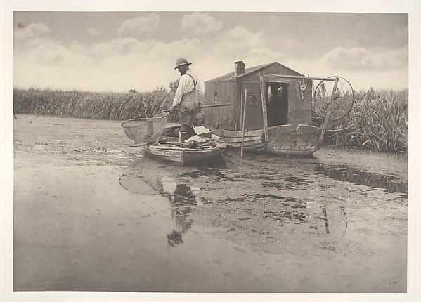 An Eel-Catcher's Home