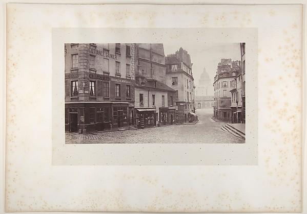 Rue du Haut-Pave (Pantheon in Distance)