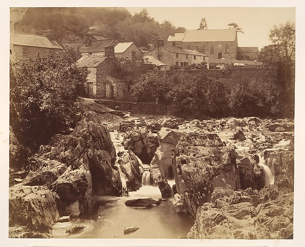 At Pont y pair, Bettws-y-Coed, North Wales