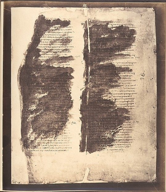 Photographic Facsimiles of the Remains of the Epistles of Clement of Rome.  Made from the Unique Copy Preserved in the Codex Alexandrinus.
