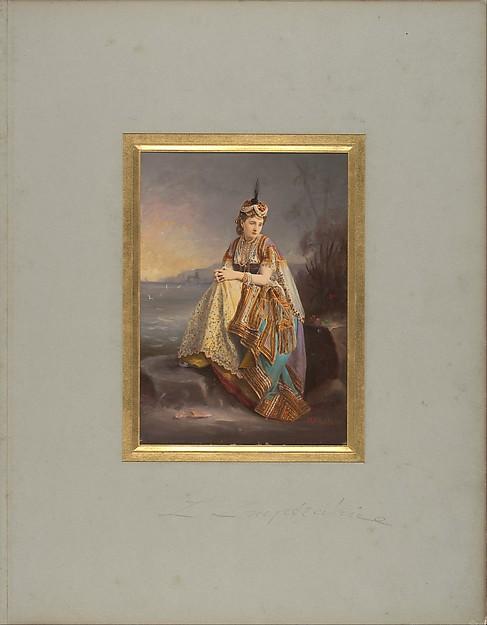 [Empress Eugénie as an Odalisque]