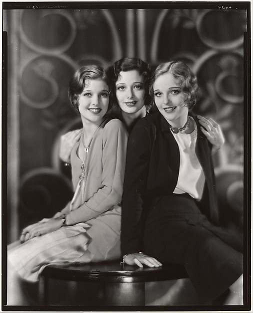 Loretta Young, Polly Ann Young and Sally Blane