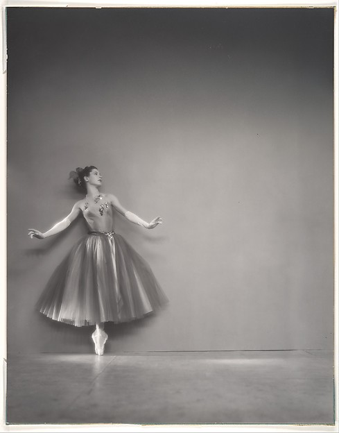 "Diana Adams in ""La Valse"""