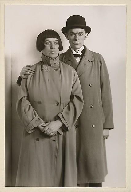 Anton Räderscheidt und Marta Hegemann