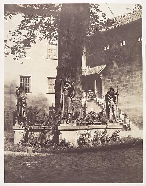 Nuremburg, Intérieur de la Cour du Burg impérial