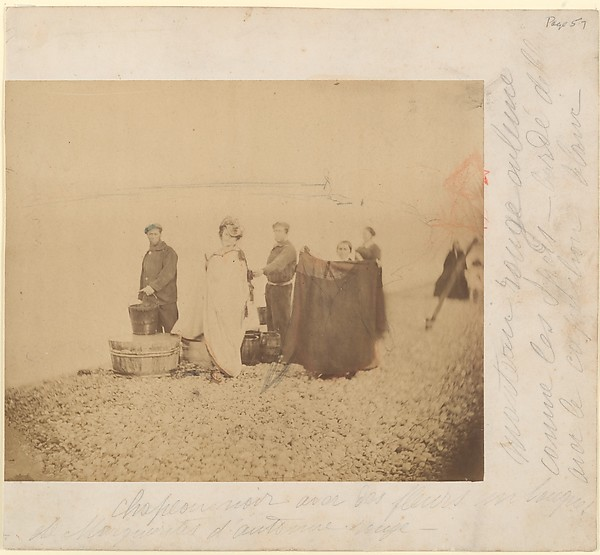 [La Comtesse with Group on a Rocky Beach]