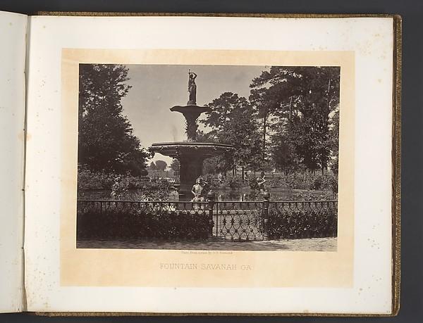 Fountain, Savanah, Georgia