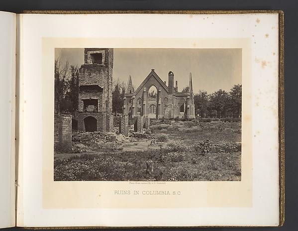 Ruins in Columbia, South Carolina