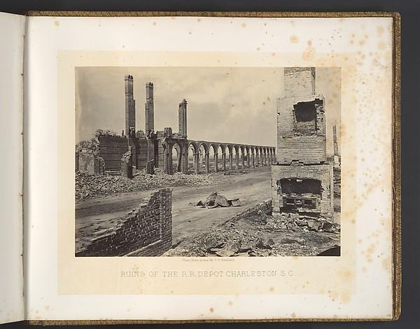 Ruins of the R.R. Depot, Charleston, South Carolina