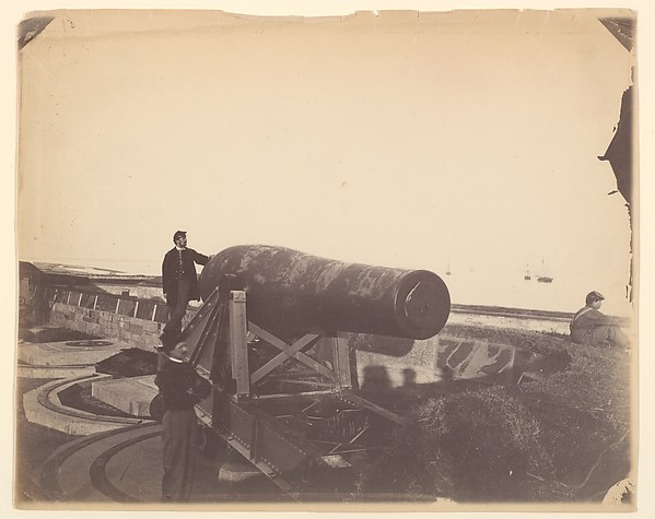 Cannon, Fortress Monroe