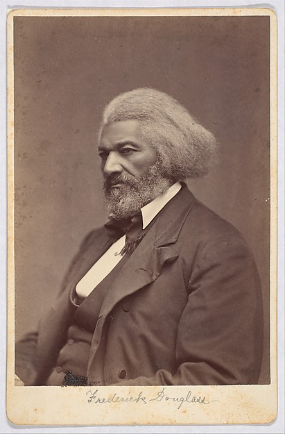 This is What Mathew B. Brady and Frederick Douglass Looked Like  in 1880