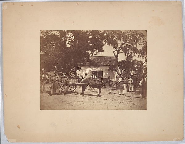 Negroes (Gwine to de Field), Hopkinson's Plantation, Edisto Island, South Carolina
