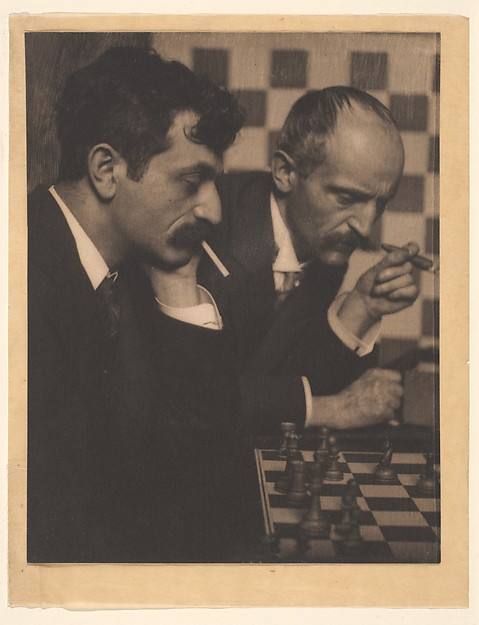 Dr. Emanuel Lasker and His Brother