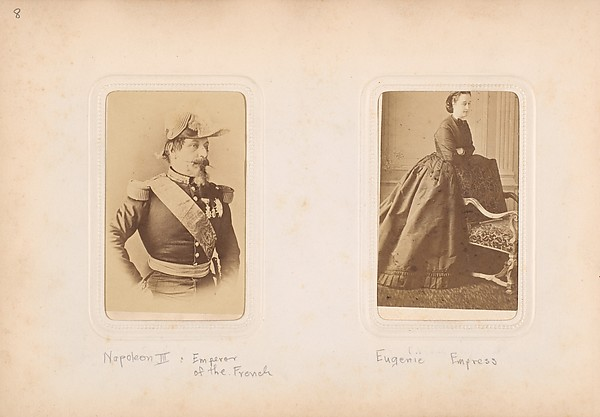 [Carte-de-Visite Album of Prominent Personages]