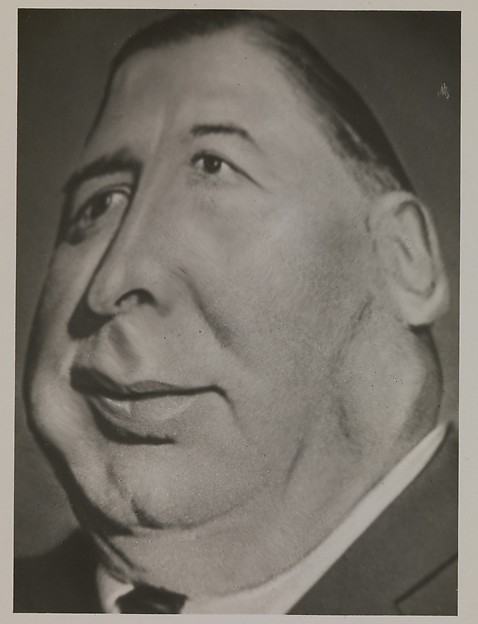 "[Distortograph: William Hale ""Big Bill"" Thompson, Mayor of Chicago]"