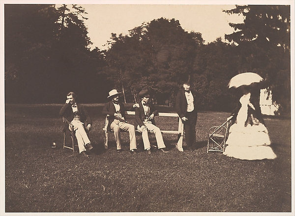 [Group at the Château de la Faloise]