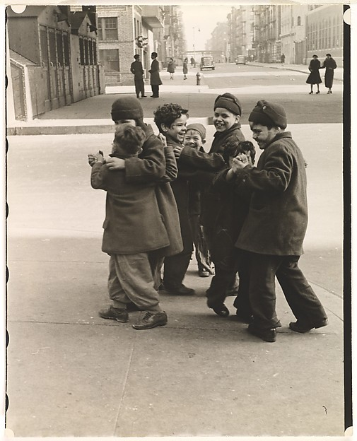 [Thanksgiving, Boys Dancing, New York]