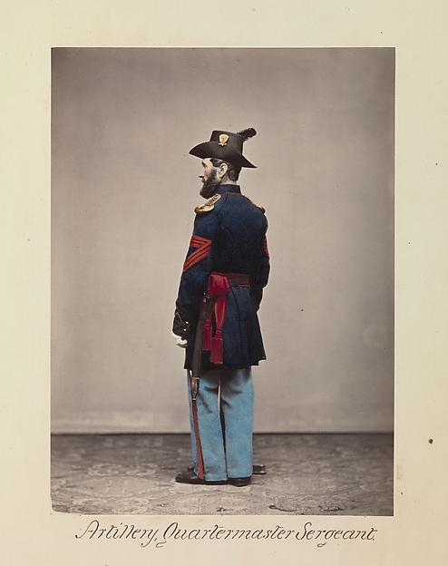 Artillery, Quartermaster Sergeant