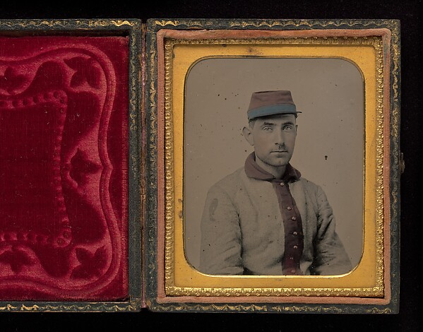[Union Private, Eleventh New York Infantry (First Fire Zouaves)]