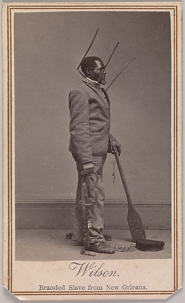 Wilson, Branded Slave from New Orleans
