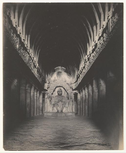 [Sutar ka Jhopda Cave Interior, Ellora Caves]