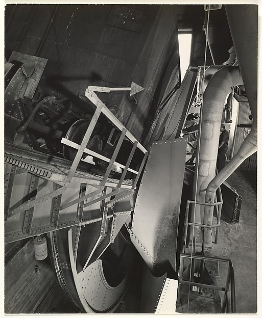 [Industrial Scene with Machine for Lifting Railroad Cars]