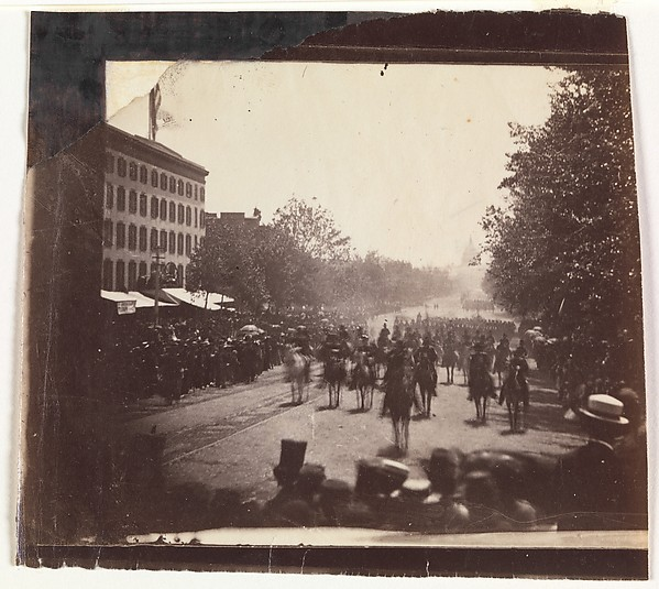 [Grand Army Review, Pennsylvania Avenue, Washington]