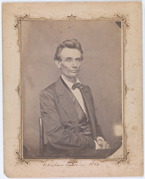 This is What William Marsh and Abraham Lincoln Looked Like  on 5/20/1860