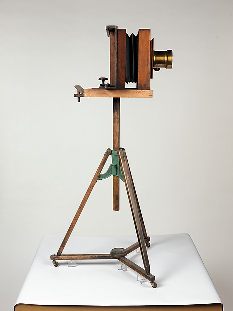 Mathew B. Brady's Studio Camera and Tripod