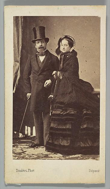 [Napoleon III and Empress Eugenie]