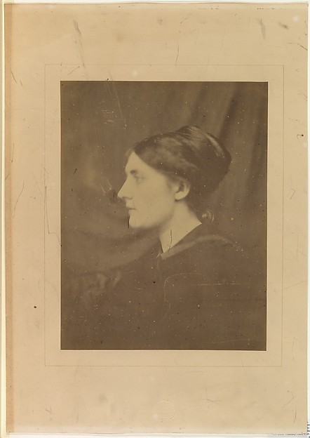 [Unidentified Woman in Profile]