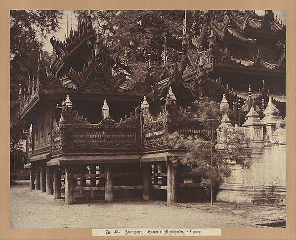 This is What Linnaeus Tripe and Amerapoora| Corner of Mygabhoodee-tee Kyoung Looked Like  on 9/1/21