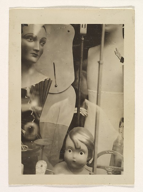 [Dolls and Mannequins in Store Window, New York]