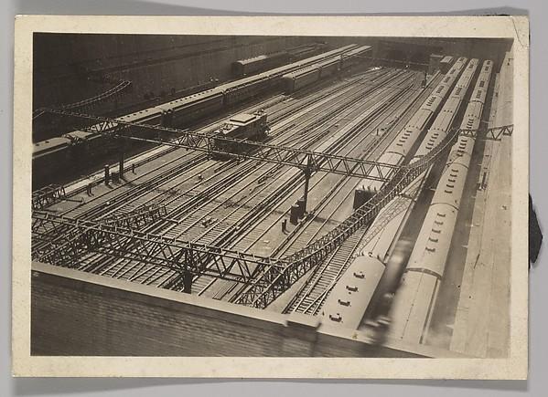 [Train Yard, New York]