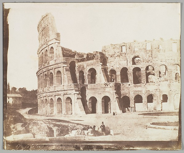 Fascinating Historical Picture of Calvert Richard Jones with 67. Colosseum Rome Second View on 5/15/1846