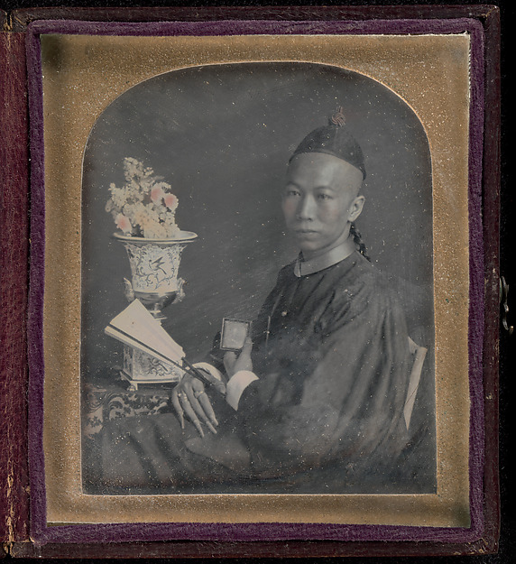 Fascinating Historical Picture of Unknown with [Portrait of Tsow Chaoong] in 1847