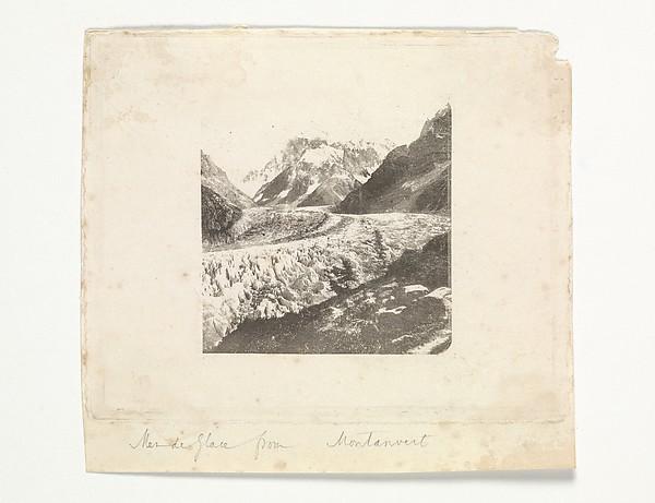 Mer de Glace from Montanvert