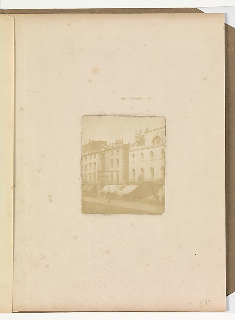 [Street Scene with Row of Houses]