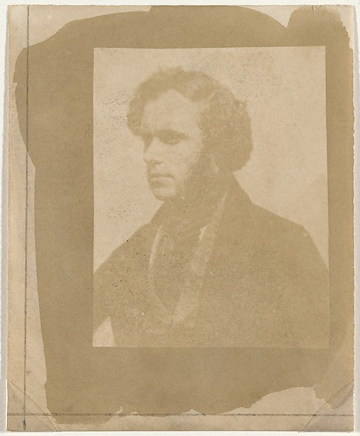 Fascinating Historical Picture of William Henry Fox Talbot with Nicolaas Henneman in Profile on 5/2/1843