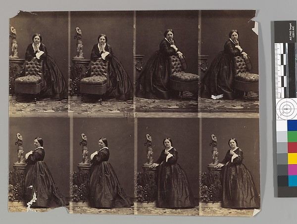 Fascinating Historical Picture of Andr-Adolphe-Eugne Disdri with Berthe on 1/22/1862