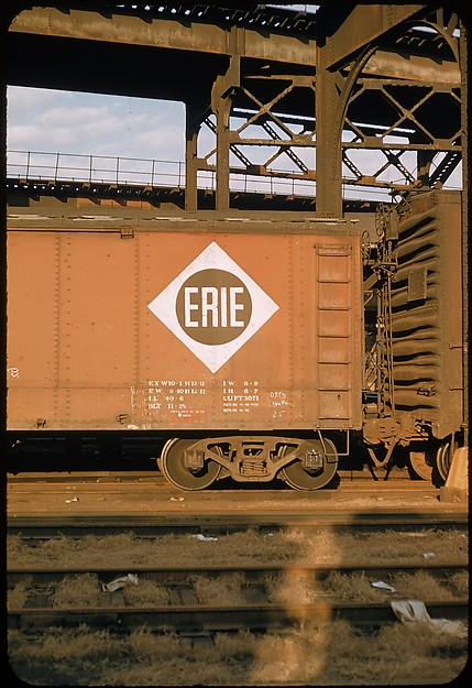 """[155 Studies of Railroad Car Insiginias, For Fortune Article """"Before They Disappear""""]"""